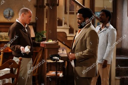 Woody Harrelson as Archie, Anthony Anderson as Henry and Jovan Adepo as Lionel