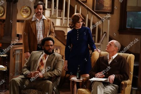 Ike Barinholtz as Mike, Anthony Anderson as Henry, Ellie Kemper as Gloria and Woody Harrelson as Archie