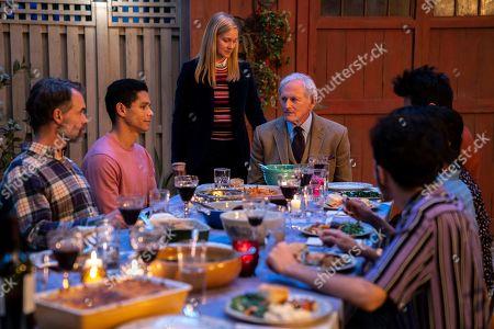 Murray Bartlett as Michael 'Mouse' Tolliver and Charlie Barnett as Ben Marshall, Laura Linney as Mary Ann Singleton and Victor Garber as Samuel Garland