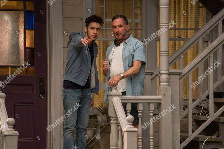 Garcia as Jake Rodriguez and Alan Poul Director