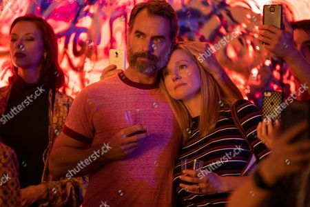 Murray Bartlett as Michael 'Mouse' Tolliver and Laura Linney as Mary Ann Singleton