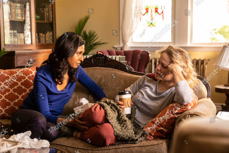 Rekha Sharma as Gina and Erika Christensen as Alice