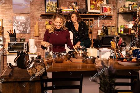 Erika Christensen as Alice and Carmel Amit as Emily