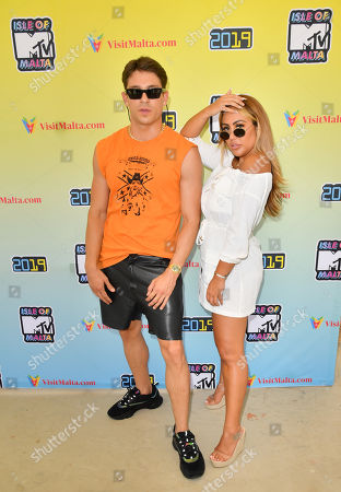 Joey Essex and Sophie Kasaei