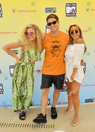 Becca Dudley, Joey Essex and Sophie Kasaei