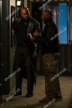 Samuel L. Jackson as John Shaft and Tim Story Director