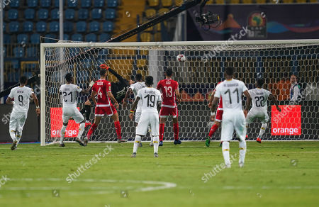 Editorial image of Ghana v Tunisia - African Cup of Nations, Ismailia, USA - 08 Jul 2019