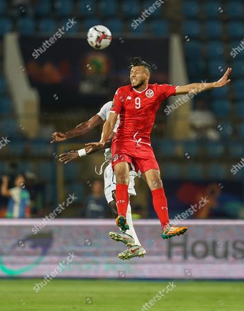 Stock Image of FRANCE OUT Anice Badri of Tunisia during the African Cup of Nations match between Ghana and Tunisia at the Ismailia Stadium in Ismailia, Egypt