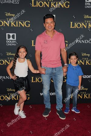 Gia Francesca Lopez, Mario Lopez and Dominic Lopez