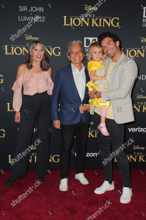 Editorial picture of 'The Lion King' film premiere, Arrivals, Dolby Theatre, Los Angeles, California, USA - 09 Jul 2019