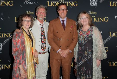 Irene Mecchi, Roger Allers, Rob Minkoff and Brenda Chapman