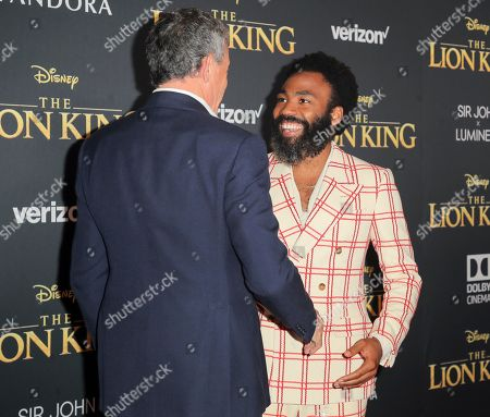 Bob Iger and Donald Glover