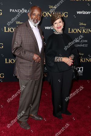 Clarence Avant and Jacqueline Avant