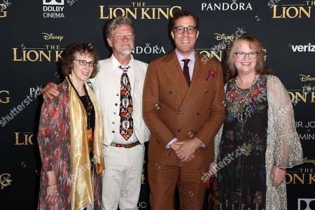 Stock Picture of Irene Mecchi, Roger Allers, Rob Minkoff and Brenda Chapman