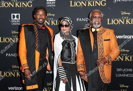 Atandwa Kani, Mandi Kani and John Kani