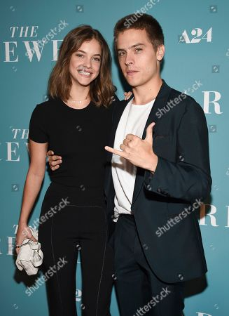 "Barbara Palvin, Dylan Sprouse. Model Barbara Palvin, left, and actor Dylan Sprouse attend a special screening of ""The Farewell"" at Metrograph, in New York"