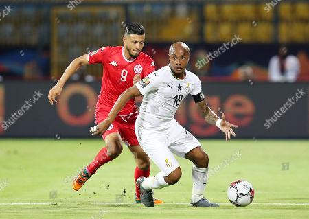 Editorial image of AFCON 2019 - Ghana vs Tunisia, Suezismailia, Egypt - 08 Jul 2019