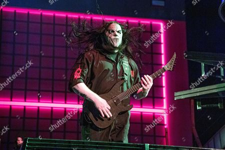 Mick Thomson of Slipknot performs during the Festival d'ete de Quebec, in Quebec City, Canada