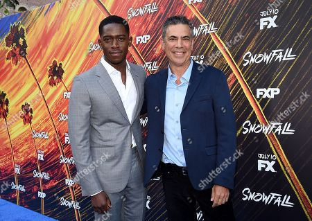 Editorial image of 'Snowfall' TV series season three premiere, Los Angeles, USA - 08 Jul 2019