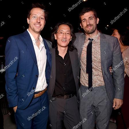 Dave Andron, Leonard Chang, Carter Hudson