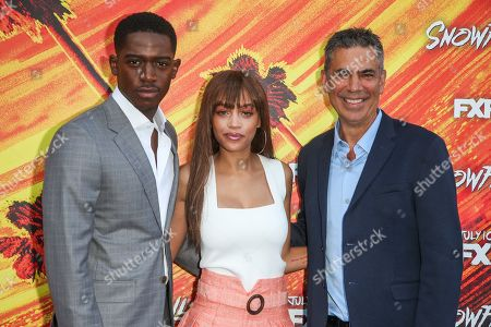 Damson Idris, Reign Edwards, Michael London