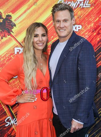 Tracey Kurland and Trevor Engelson