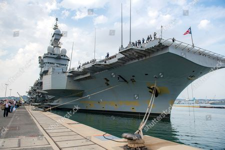 Editorial image of Nuclear aircraft carrier Charles de Gaulle, Toulon, France - 06 Jul 2019
