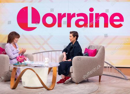Stock Picture of Lorraine Kelly and Lea Salonga