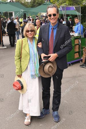 Stock Photo of Richard E Grant and Joan Washington