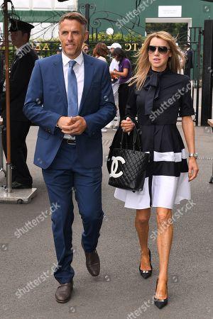 Phil Neville and Julie Neville