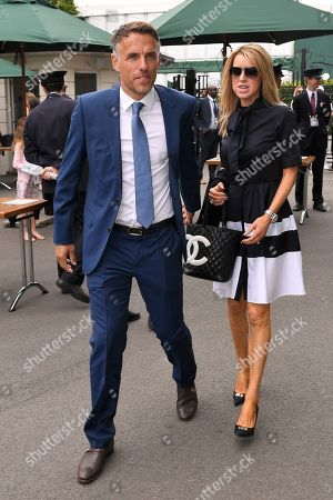 Stock Picture of Phil Neville and Julie Neville
