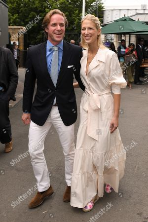 Stock Image of Thomas Kingston and Lady Gabriella Windsor