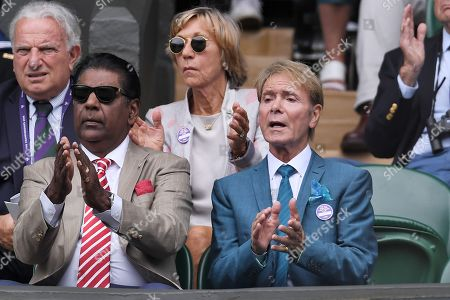 Editorial picture of Wimbledon Tennis Championships, Day 8, The All England Lawn Tennis and Croquet Club, London, UK - 09 Jul 2019