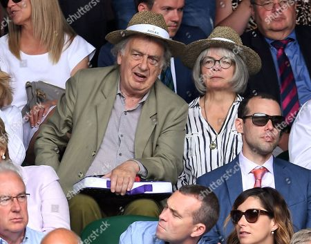 Stock Photo of Stephen Frears on Centre Court