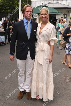 Stock Photo of Thomas Kingston and Lady Gabriella Windsor