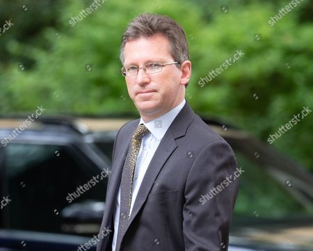 Jeremy Wright, Secretary of State for Digital, Culture, Media and Sport, arrives for the weekly Cabinet Meeting.