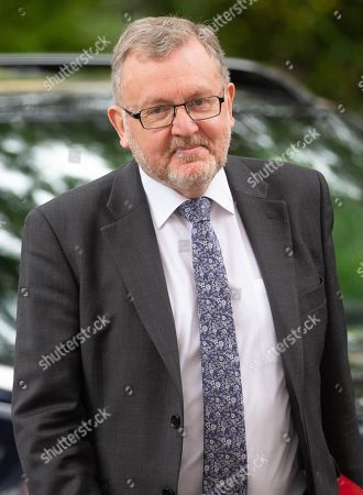 David Mundell, Secretary of State for Scotland, arrives for the weekly Cabinet Meeting.