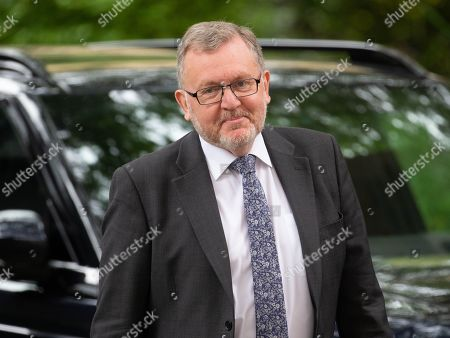 Stock Picture of David Mundell, Secretary of State for Scotland, arrives for the weekly Cabinet Meeting.
