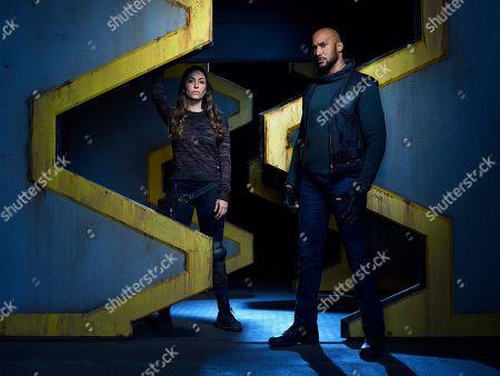 "Natalia Cordova-Buckley as Elena ""Yo-Yo"" Rodriguez and Henry Simmons as Alphonso ""Mack"" MacKenzie"
