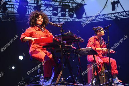 Stock Image of Ibeyi - Lisa-Kaindé Diaz and Naomi Diaz