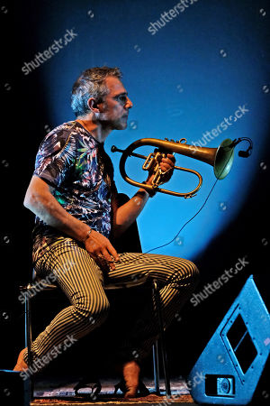 Stock Image of Paolo Fresu in concert