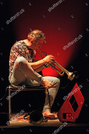 Stock Picture of Paolo Fresu in concert