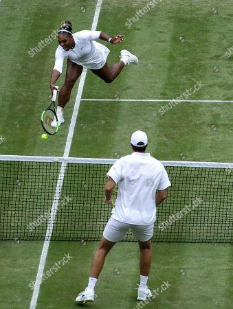 Editorial image of Wimbledon Tennis, London, United Kingdom - 09 Jul 2019