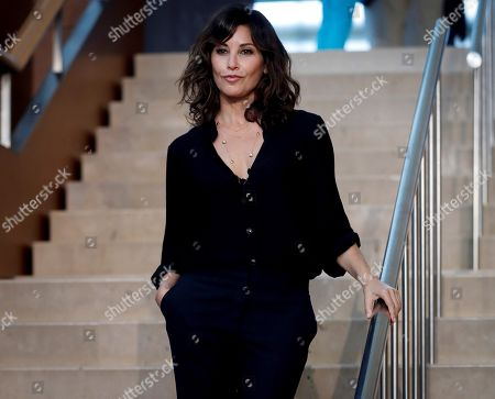 Gina Gershon attends a press conference on the filming of US filmmaker Woody Allen's (unseen) new movie in San Sebastian, Spain, 09 July 2019. Allen is set to begin shooting his new movie in San Sebastian from 10 July to 23 August.