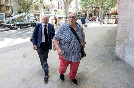 Editorial picture of Sports manager Santos Marquez on trial for alleged disloyal administration, Palma, Spain - 09 Jul 2019