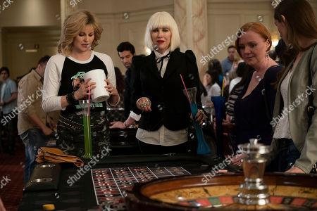 Jennifer Robertson as Jocelyn Schitt and Catherine O'Hara as Moira Rose