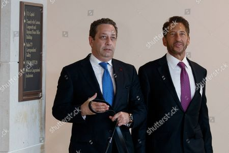 Editorial picture of Felix Sater testifies before the House Intelligence Committee behind closed doors, Washington, USA - 09 Jul 2019