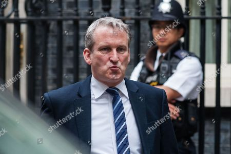 Secretary of State for Education Damian Hinds leaves 10 Downing Street in London after the weekly Cabinet meeting.