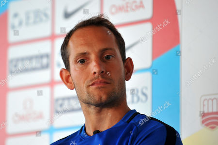 Renaud Lavillenie (France) at the press conference