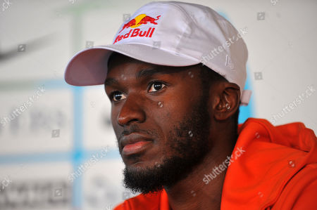 Will Claye (USA) at the press conference